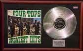 FOUR TOPS - Platinum Disc+cover - GREATEST HITS